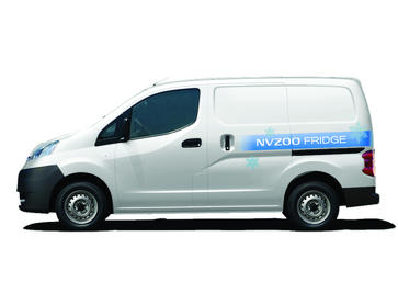 52f0f29e54 NISSAN PRESENTS NV200 REFRIGERATED VEHICLE